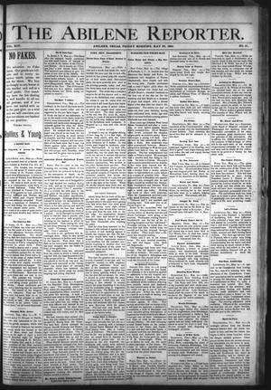 Primary view of object titled 'The Abilene Reporter. (Abilene, Tex.), Vol. 13, No. 21, Ed. 1 Friday, May 25, 1894'.