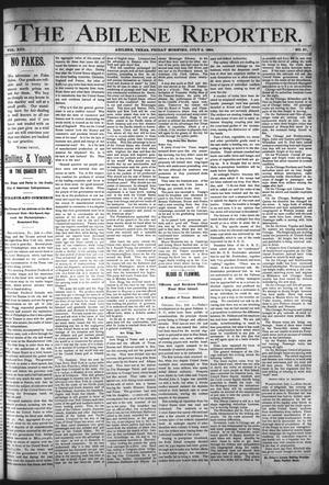 Primary view of object titled 'The Abilene Reporter. (Abilene, Tex.), Vol. 13, No. 27, Ed. 1 Friday, July 6, 1894'.