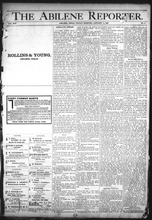 Primary view of object titled 'The Abilene Reporter. (Abilene, Tex.), Vol. 14, No. 2, Ed. 1 Friday, January 11, 1895'.