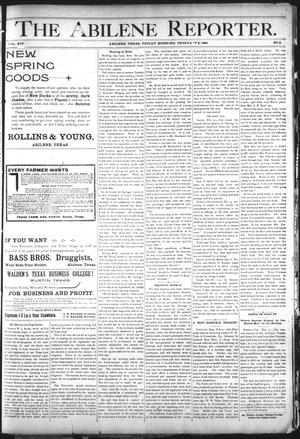 Primary view of object titled 'The Abilene Reporter. (Abilene, Tex.), Vol. 14, No. 6, Ed. 1 Friday, February 8, 1895'.