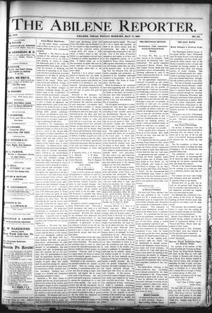 Primary view of object titled 'The Abilene Reporter. (Abilene, Tex.), Vol. 14, No. 23, Ed. 1 Friday, May 17, 1895'.