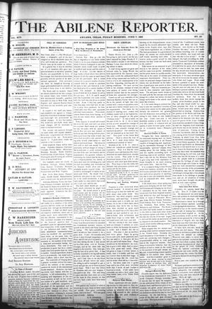 Primary view of object titled 'The Abilene Reporter. (Abilene, Tex.), Vol. 14, No. 26, Ed. 1 Friday, June 7, 1895'.