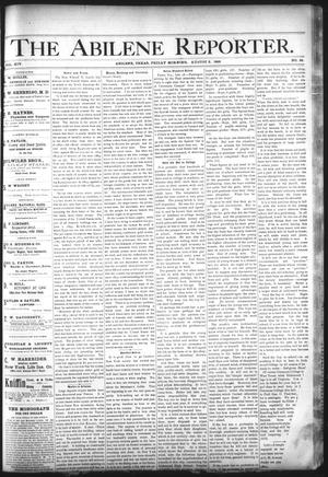 Primary view of object titled 'The Abilene Reporter. (Abilene, Tex.), Vol. 14, No. 34, Ed. 1 Friday, August 2, 1895'.