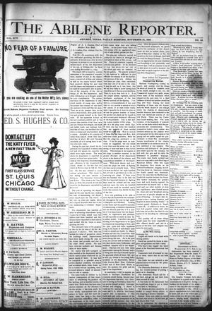 Primary view of object titled 'The Abilene Reporter. (Abilene, Tex.), Vol. 14, No. 48, Ed. 1 Friday, November 15, 1895'.