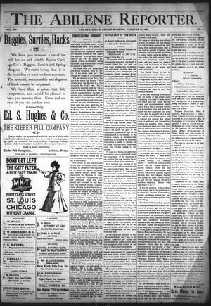 Primary view of object titled 'The Abilene Reporter. (Abilene, Tex.), Vol. 15, No. 2, Ed. 1 Friday, January 10, 1896'.