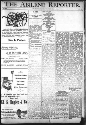 Primary view of object titled 'The Abilene Reporter. (Abilene, Tex.), Vol. 15, No. 22, Ed. 1 Friday, May 8, 1896'.