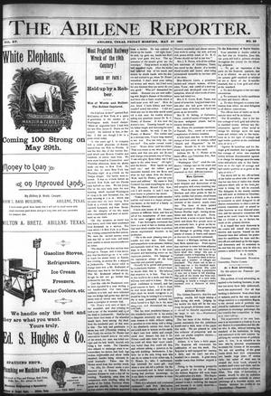 Primary view of object titled 'The Abilene Reporter. (Abilene, Tex.), Vol. 15, No. 29, Ed. 1 Monday, May 25, 1896'.