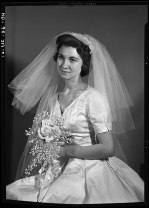 Primary view of object titled 'Bridal Portrait of JoAnn Polansky'.