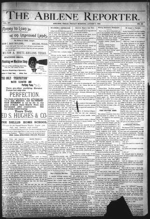 Primary view of object titled 'The Abilene Reporter. (Abilene, Tex.), Vol. 15, No. 35, Ed. 1 Friday, August 7, 1896'.