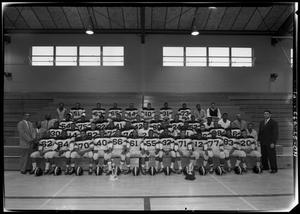 Primary view of object titled '[Anderson High School Football Team]'.