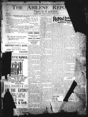 Primary view of object titled 'The Abilene Reporter. (Abilene, Tex.), Vol. 16, No. 5A, Ed. 1 Tuesday, January 19, 1897'.