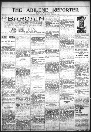 Primary view of object titled 'The Abilene Reporter (Abilene, Tex.), Vol. 16, No. 18B, Ed. 1 Friday, April 30, 1897'.