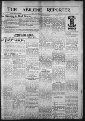 Primary view of object titled 'The Abilene Reporter (Abilene, Tex.), Vol. 16, No. 39, Ed. 1 Friday, September 24, 1897'.