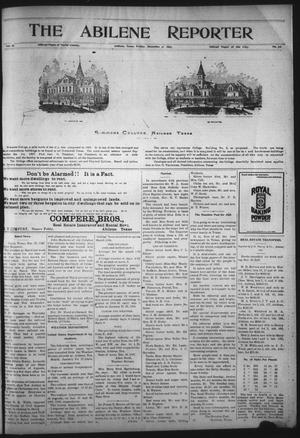 Primary view of The Abilene Reporter (Abilene, Tex.), Vol. 16, No. 52, Ed. 1 Friday, December 31, 1897