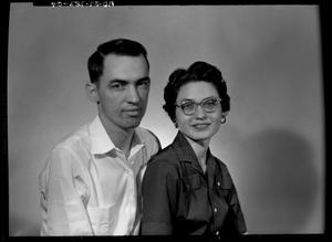 Primary view of object titled 'Mr. and Mrs. Harold Finley - Portrait'.