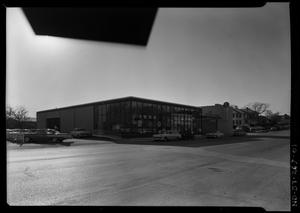 Primary view of object titled '[Exterior of Swearingen Brothers Edsel Dealership]'.