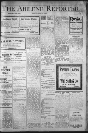 Primary view of object titled 'The Abilene Reporter. (Abilene, Tex.), Vol. 18, No. 19, Ed. 1 Friday, May 12, 1899'.