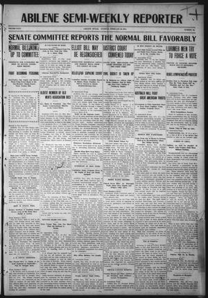 Primary view of object titled 'Abilene Semi-Weekly Reporter (Abilene, Tex.), Vol. 31, No. 24, Ed. 1 Tuesday, February 28, 1911'.