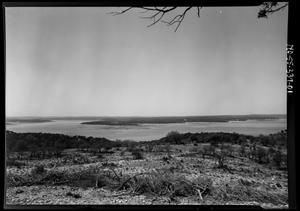 Primary view of object titled '[View of Lake Travis]'.