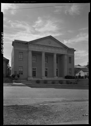 Primary view of object titled 'Negro Masonic Temple'.