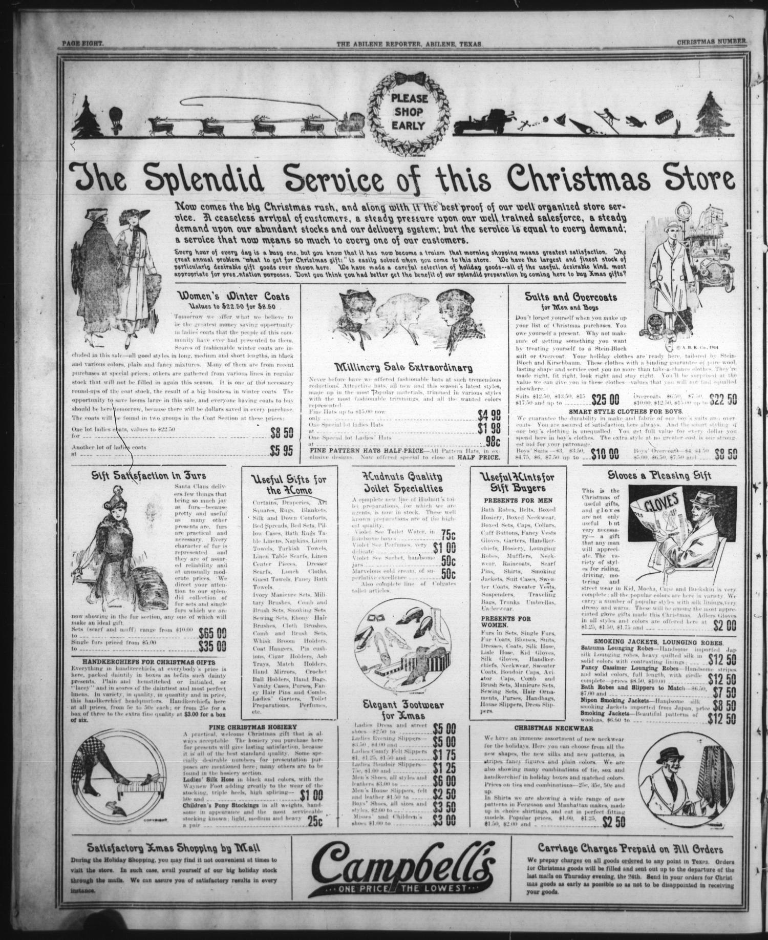 The Abilene Semi-Weekly Reporter (Abilene, Tex.), Vol. 6, No. 248 ...