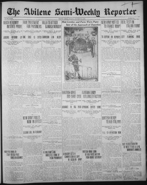 Primary view of object titled 'The Abilene Semi-Weekly Reporter (Abilene, Tex.), Vol. 32, No. 91, Ed. 1 Tuesday, November 13, 1917'.