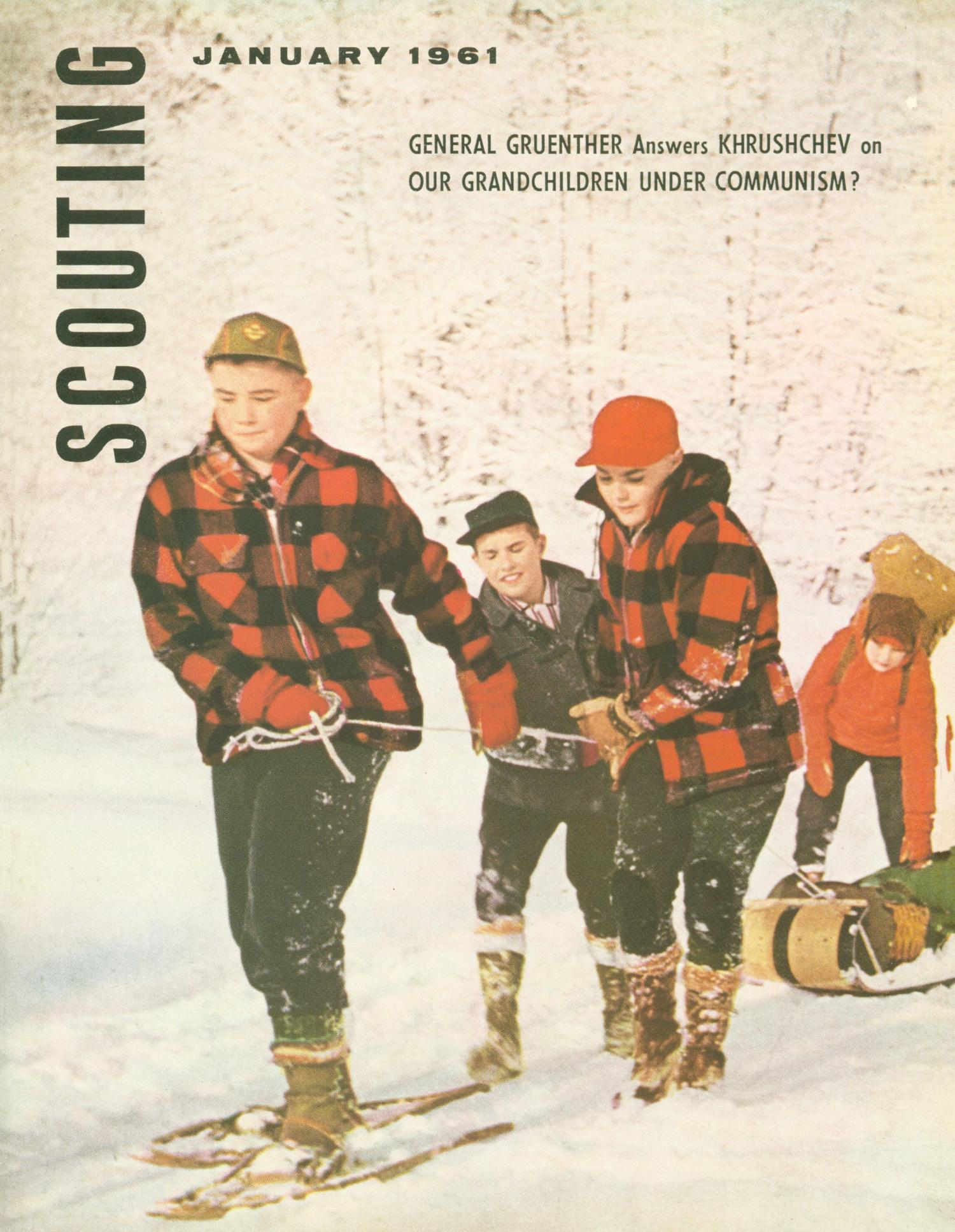 Scouting, Volume 49, Number 1, January 1961                                                                                                      Front Cover