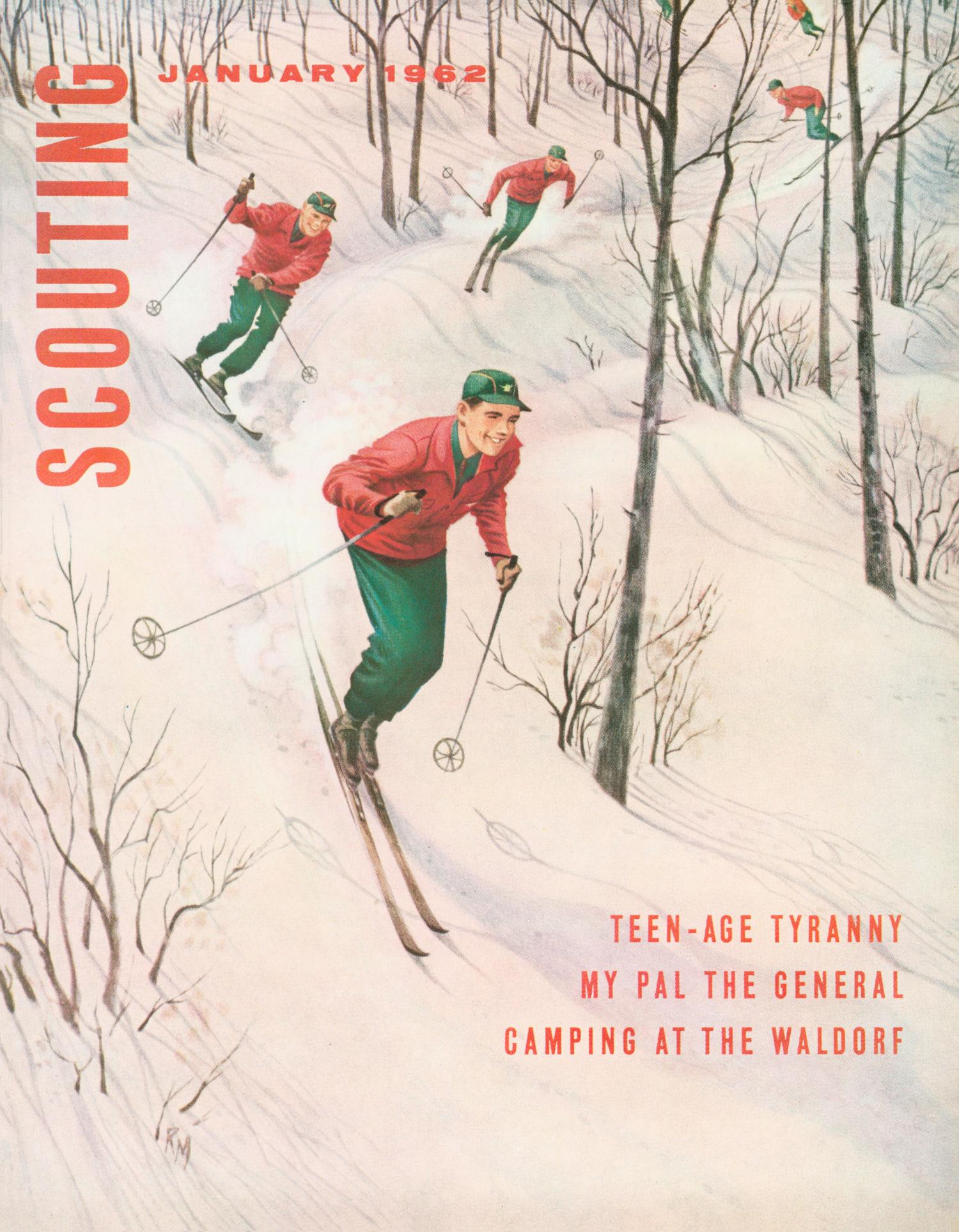 Scouting, Volume 50, Number 1, January 1962                                                                                                      Front Cover