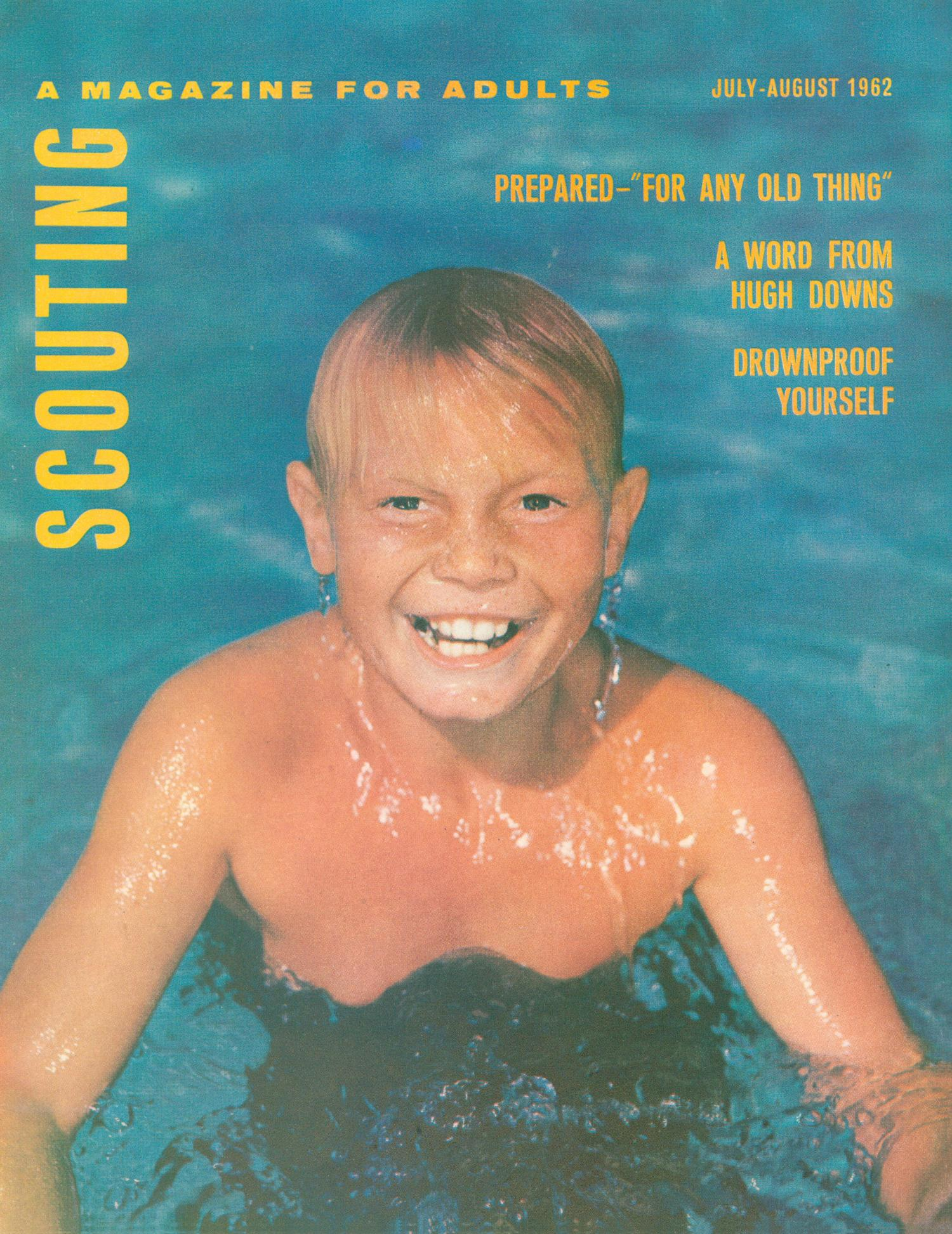 Scouting, Volume 50, Number 6, July-August 1962                                                                                                      Front Cover