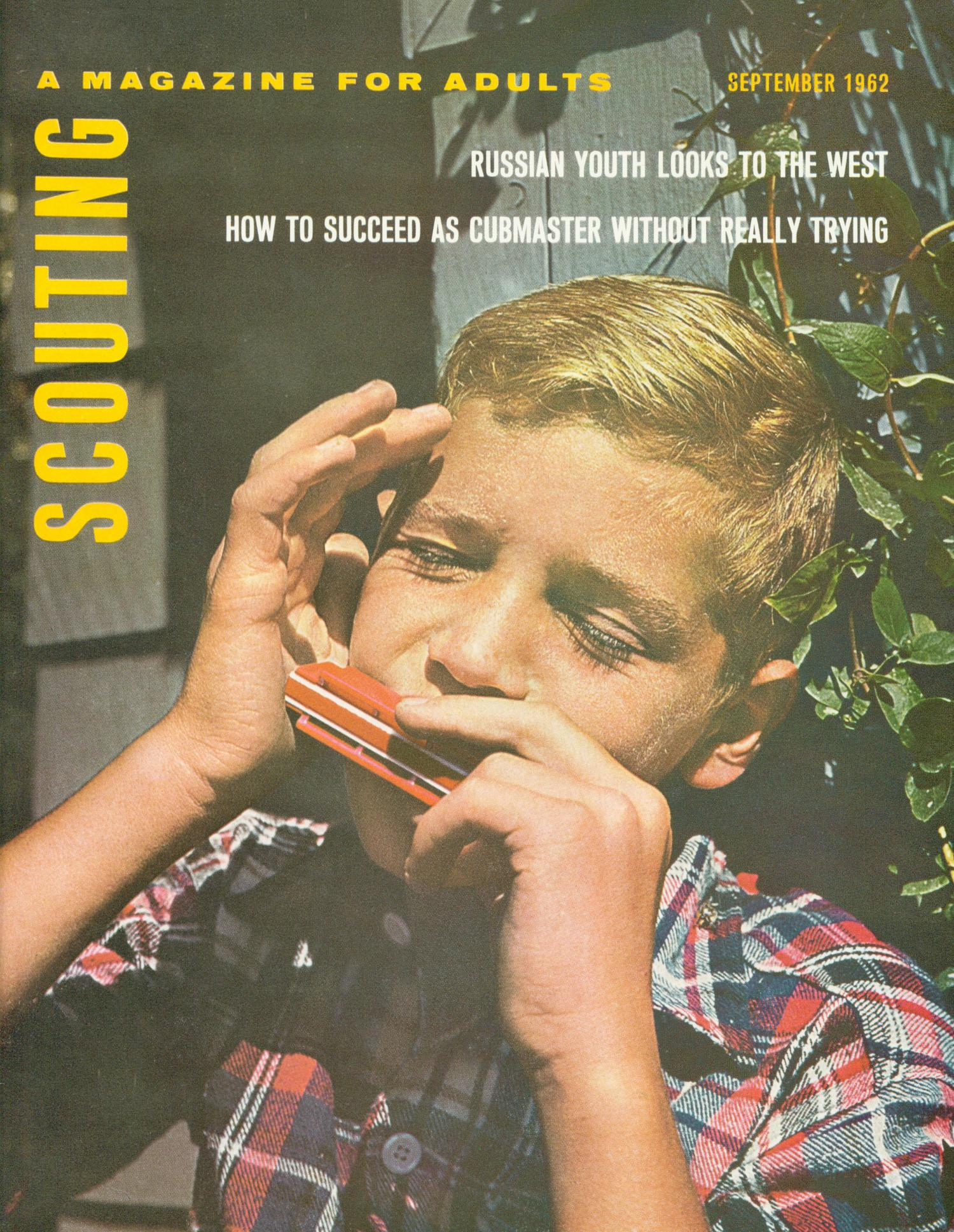 Scouting, Volume 50, Number 7, September 1962                                                                                                      Front Cover