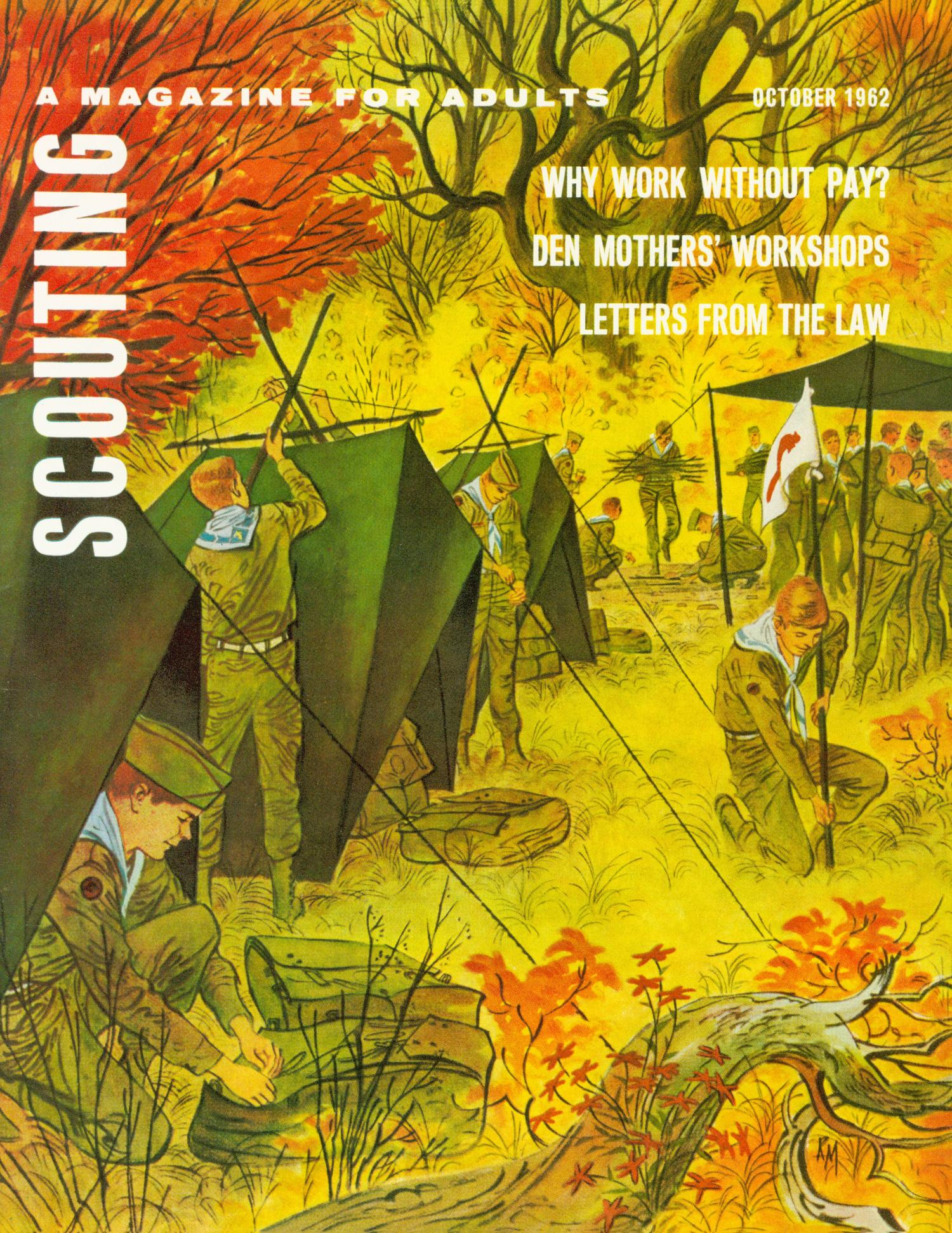 Scouting, Volume 50, Number 8, October 1962                                                                                                      Front Cover
