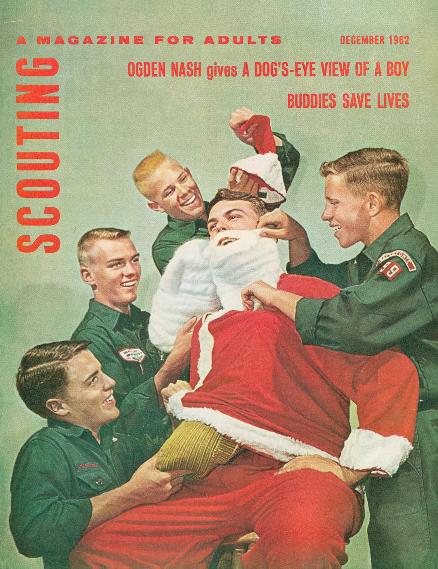 Scouting, Volume 50, Number 10, December 1962                                                                                                      Front Cover