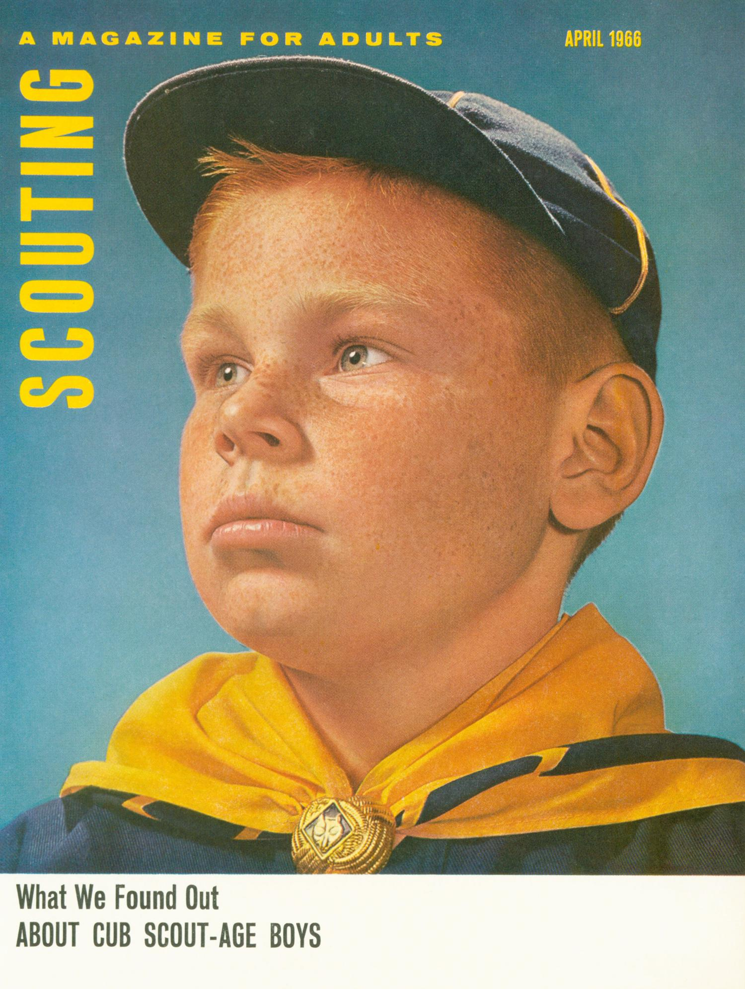 Scouting, Volume 54, Number 4, April 1966                                                                                                      Front Cover