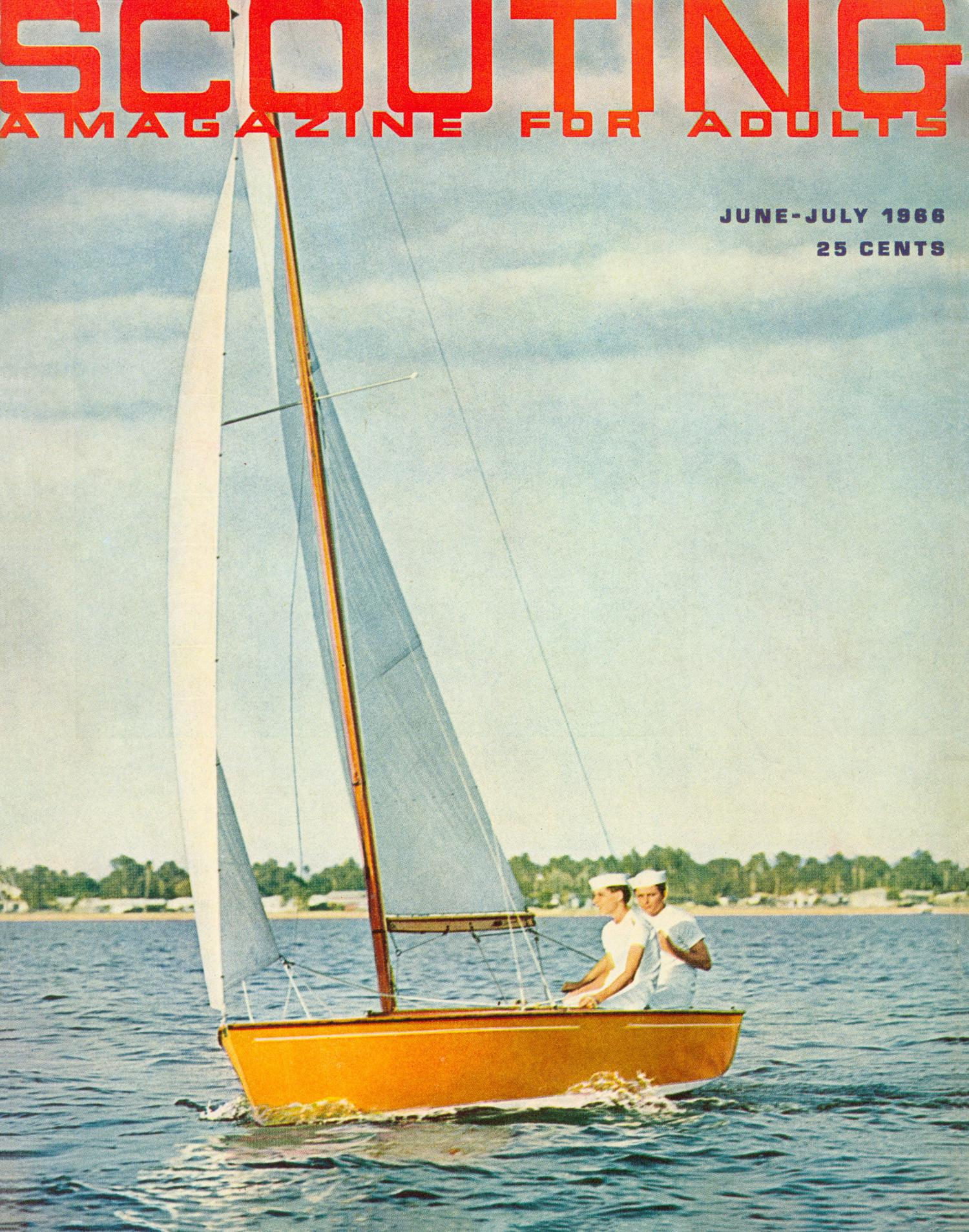 Scouting, Volume 54, Number 6, June-July 1966                                                                                                      Front Cover