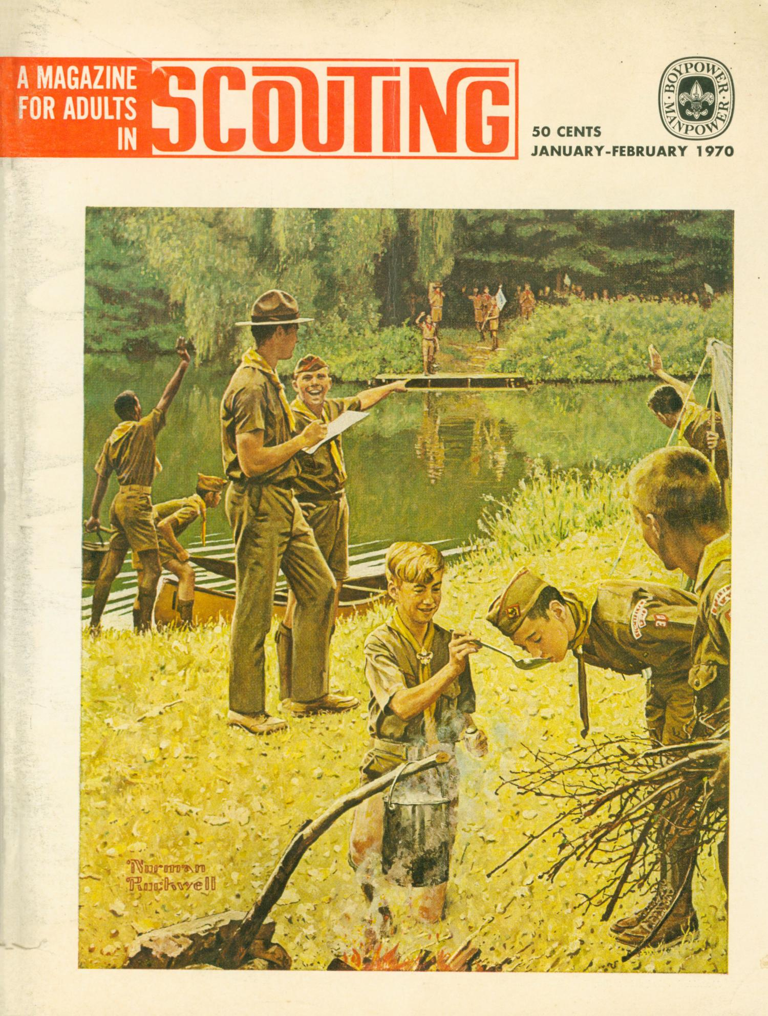 Scouting, Volume 58, Number 1, January-February 1970                                                                                                      Front Cover