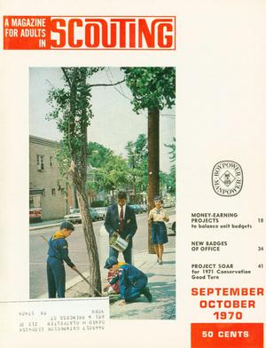Primary view of object titled 'Scouting, Volume 58, Number 5, September-October 1970'.