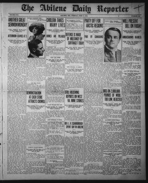 Primary view of The Abilene Daily Reporter (Abilene, Tex.), Vol. 17, No. 145, Ed. 1 Tuesday, June 17, 1913