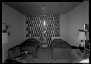 Primary view of object titled 'Commodore Perry Hotel Bedroom'.