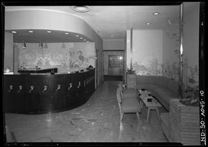 Primary view of object titled 'Commodore Perry Hotel Reception Area'.