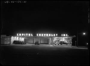 Primary view of object titled 'Capitol Chevrolet , Inc.'.