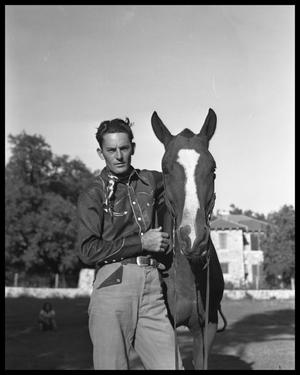 Primary view of object titled 'Cowboy With His Horse'.