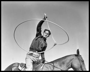 Primary view of object titled 'Cowboy Rope Tricks'.