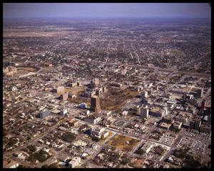Primary view of object titled 'Austin Aerials - Downtown and East Austin'.