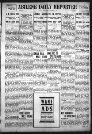 Primary view of object titled 'Abilene Daily Reporter (Abilene, Tex.), Vol. 12, No. 132, Ed. 1 Tuesday, December 24, 1907'.