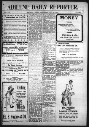 Primary view of object titled 'Abilene Daily Reporter. (Abilene, Tex.), Vol. 8, No. 349, Ed. 1 Saturday, May 21, 1904'.