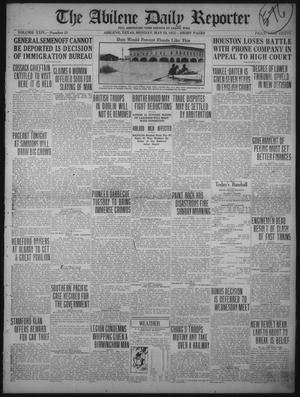 Primary view of object titled 'The Abilene Daily Reporter (Abilene, Tex.), Vol. 24, No. 25, Ed. 1 Monday, May 29, 1922'.