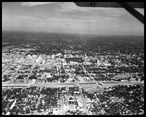Primary view of object titled 'Austin Aerials - Downtown and Capitol'.