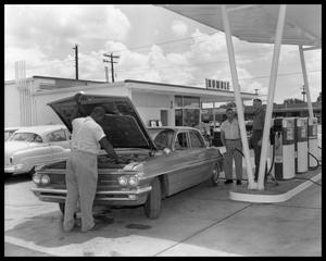 Primary view of object titled 'Humble Service Station'.