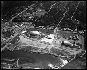 Primary view of object titled 'Austin Aerials - misc. downtown, auditorium'.