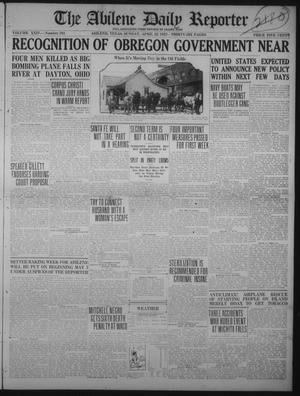 Primary view of The Abilene Daily Reporter (Abilene, Tex.), Vol. 24, No. 293, Ed. 1 Sunday, April 22, 1923